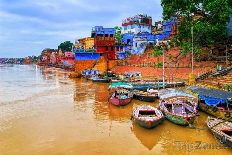 Fotka, Foto Město Varanasi (Indie)