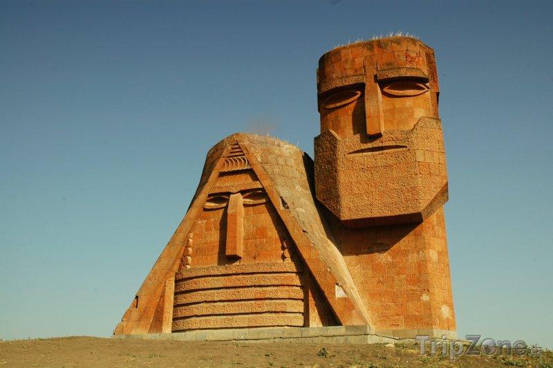 Fotka, Foto Monument v Náhorním Karabachu (Ázerbájdžán)
