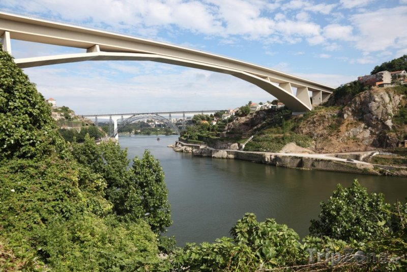 Fotka, Foto Most přes řeku Douro (Porto, Portugalsko)
