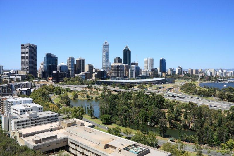Fotka, Foto Mrakodrapy v Perthu (Austrálie)