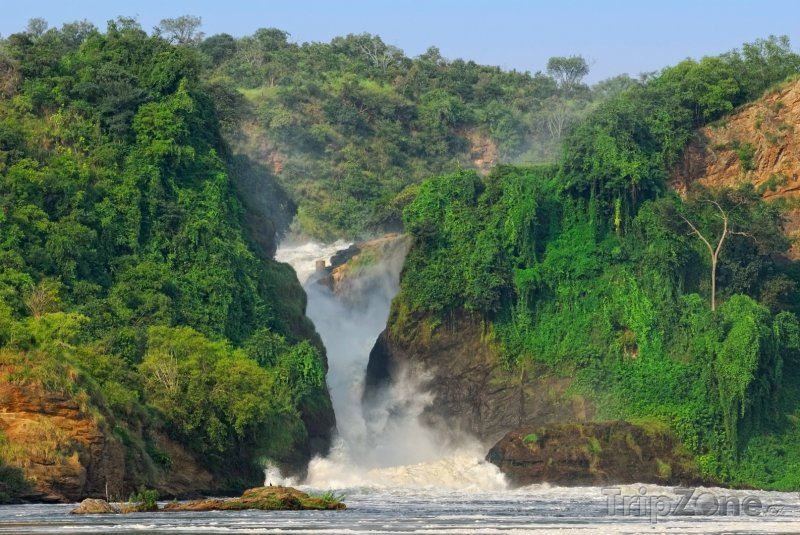 Fotka, Foto Murchison Falls (Uganda)