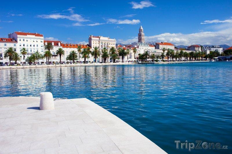 Fotka, Foto Nábřeží ve Splitu (Split, Chorvatsko)