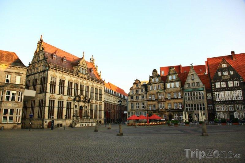 Fotka, Foto Náměstí v Brémách (Německo)