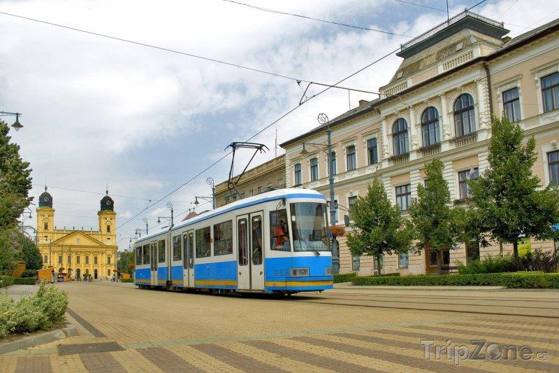 Fotka, Foto Náměstí v Debrecínu (Maďarsko)
