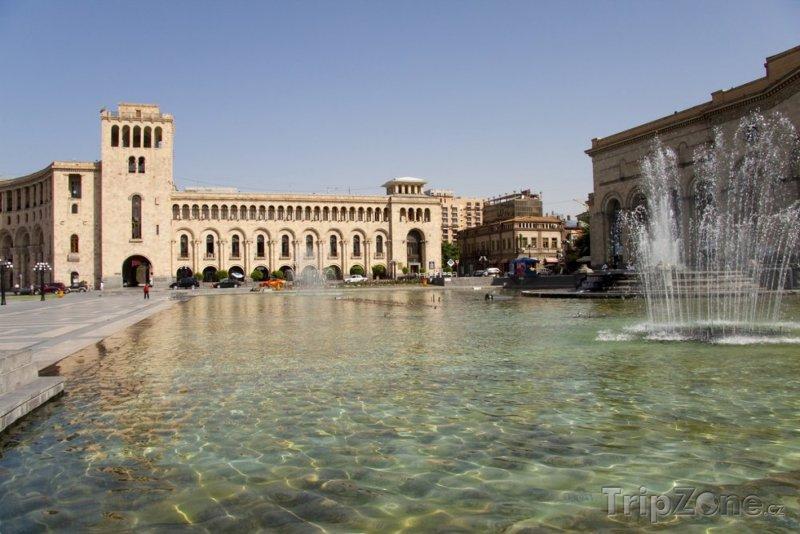 Fotka, Foto Náměstí v Jerevanu (Arménie)