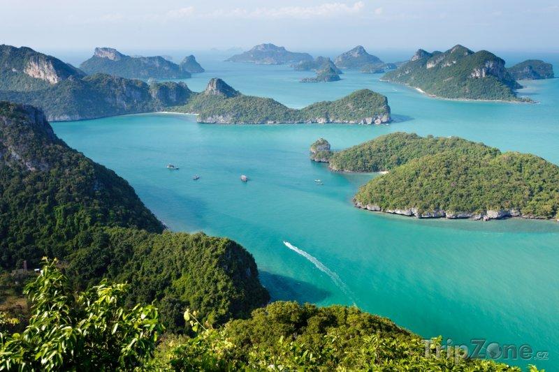 Fotka, Foto Národní mořský park Mu Ko Ang Thong (Phuket, Thajsko)