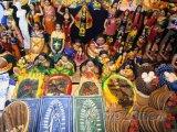 Obchod s ornamenty ve městě Juayúa