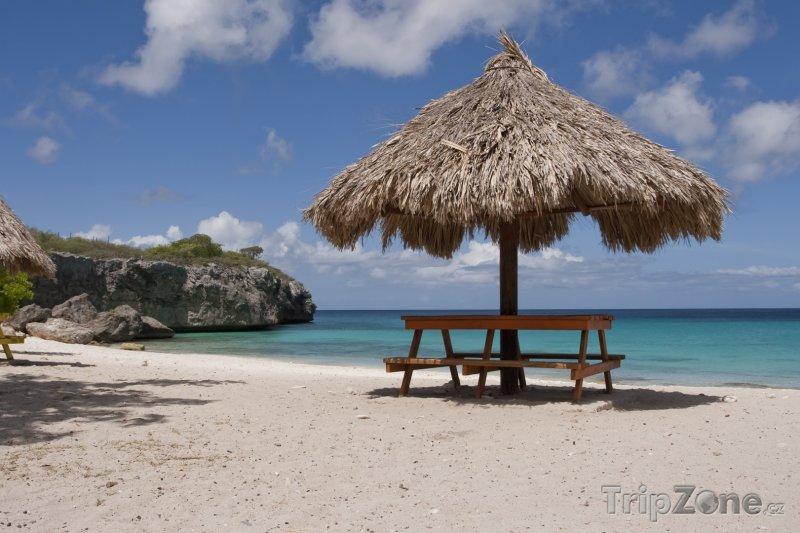 Fotka, Foto Odpočívadlo na pláži (Bonaire)