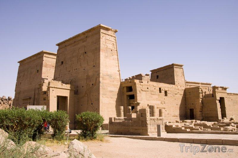 Fotka, Foto Ostrovní chrám Philae (Asuán, Egypt)