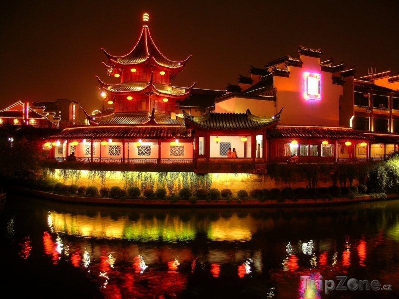 Fotka, Foto Pagoda v Nanjingu (Čína)