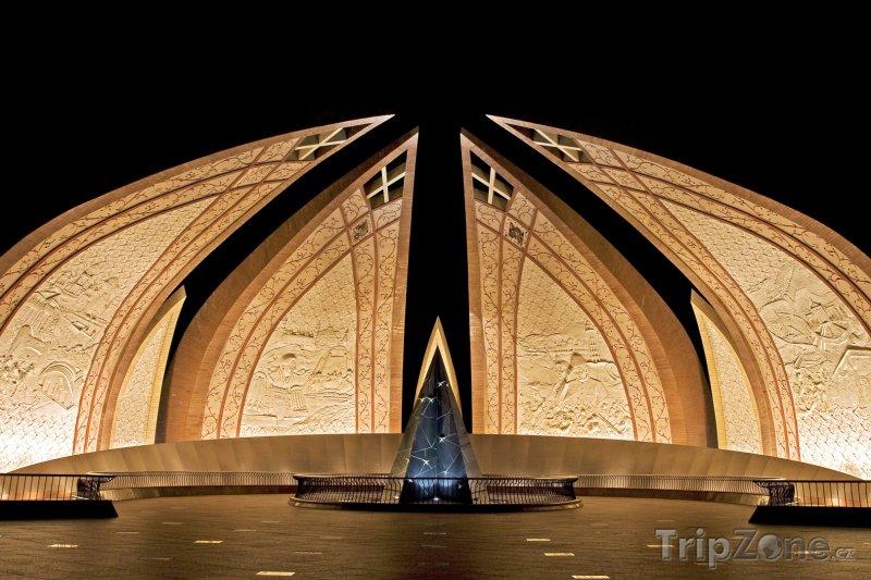 Fotka, Foto Pákistánský monument v Islámábádu (Pákistán)