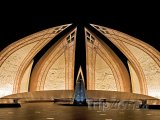 Pákistánský monument v Islámábádu