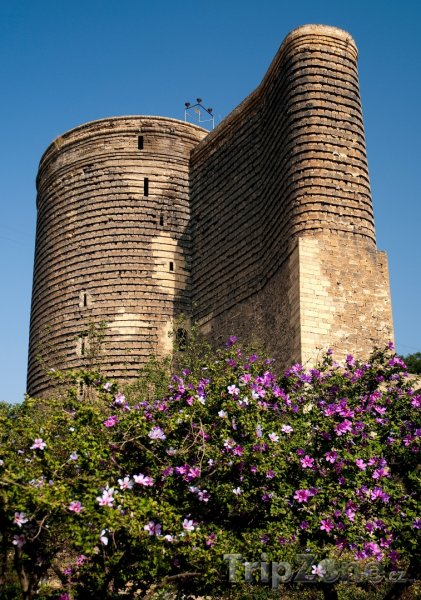 Fotka, Foto Panenská věž v Baku (Ázerbájdžán)