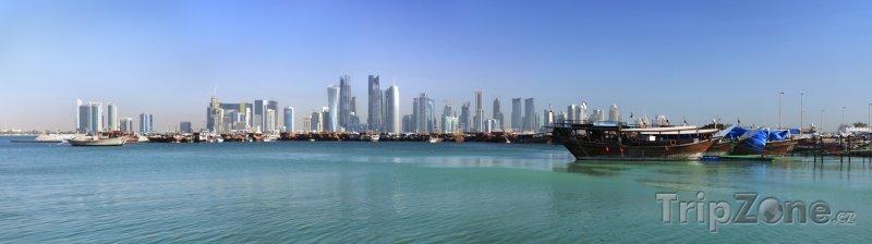 Fotka, Foto Panoráma Dauhá (Katar)