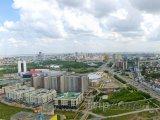 Panorama města Astana