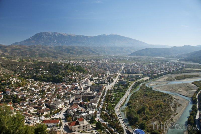 Fotka, Foto Panoráma města Berat (Albánie)