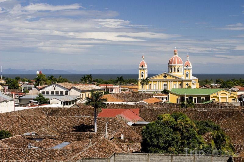 Fotka, Foto Panoráma města Granada (Nikaragua)