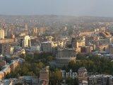 Panoráma města Jerevan