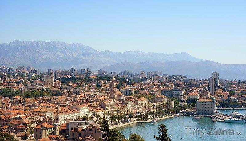Fotka, Foto Panoráma města (Split, Chorvatsko)