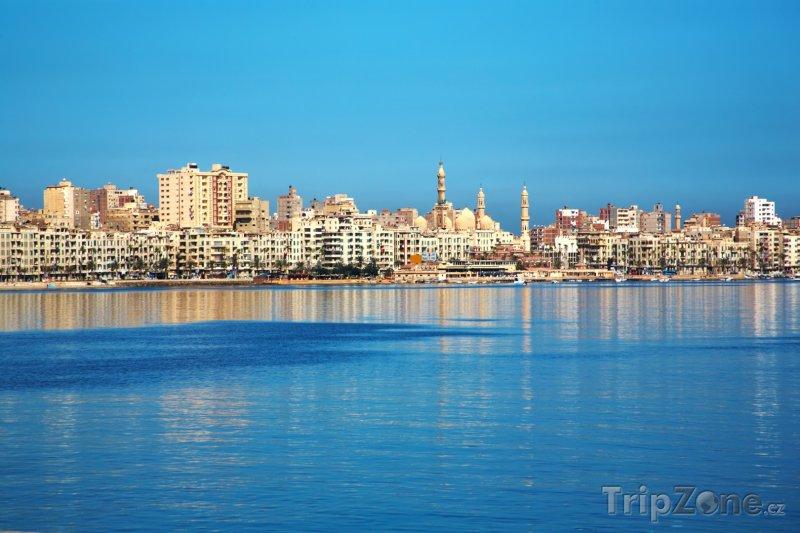 Fotka, Foto Panorama města (Alexandrie, Egypt)