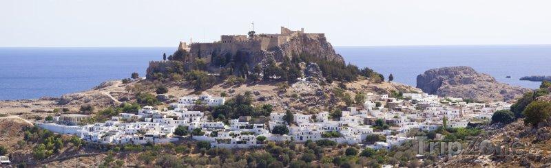 Fotka, Foto Panorama města (Líndos, Řecko)