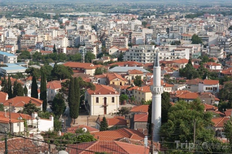 Fotka, Foto Panoráma města Xanthi (Řecko)