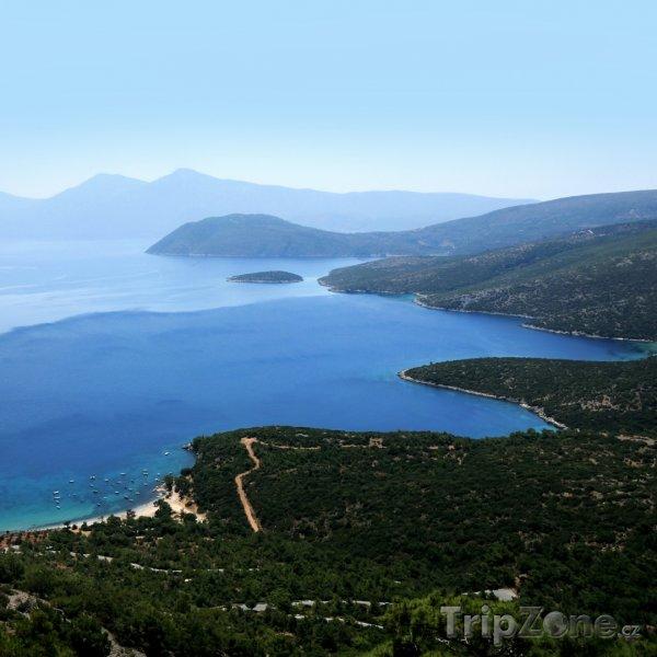 Fotka, Foto Panorama ostrova Samos (Samos, Řecko)