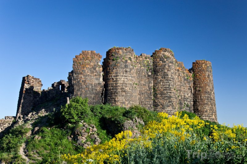 Fotka, Foto Pevnost Amberd (Arménie)