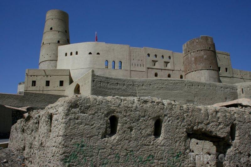 Fotka, Foto Pevnost Bahla (Omán)