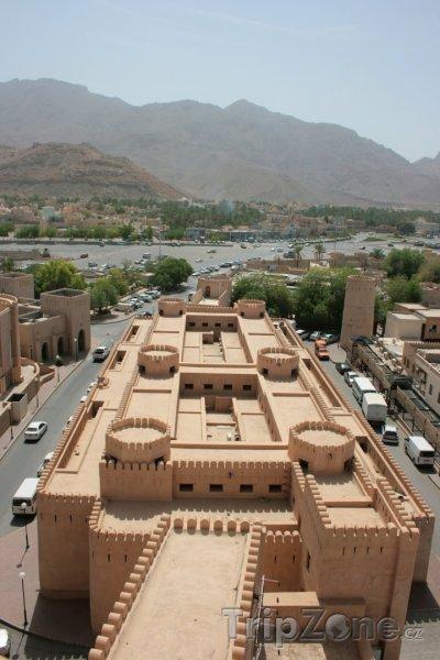 Fotka, Foto Pevnost ve městě Nazvá (Omán)