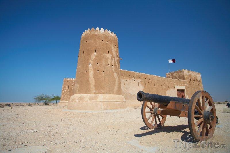 Fotka, Foto Pevnost Zubara (Katar)