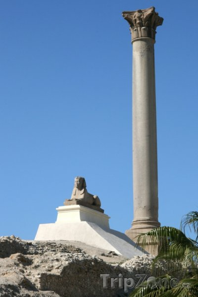 Fotka, Foto Pilíř Pompeiuse (Alexandrie, Egypt)