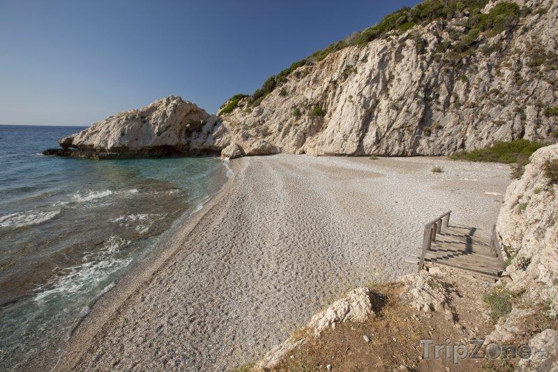 Fotka, Foto Pláž Micro Seitani (Samos, Řecko)
