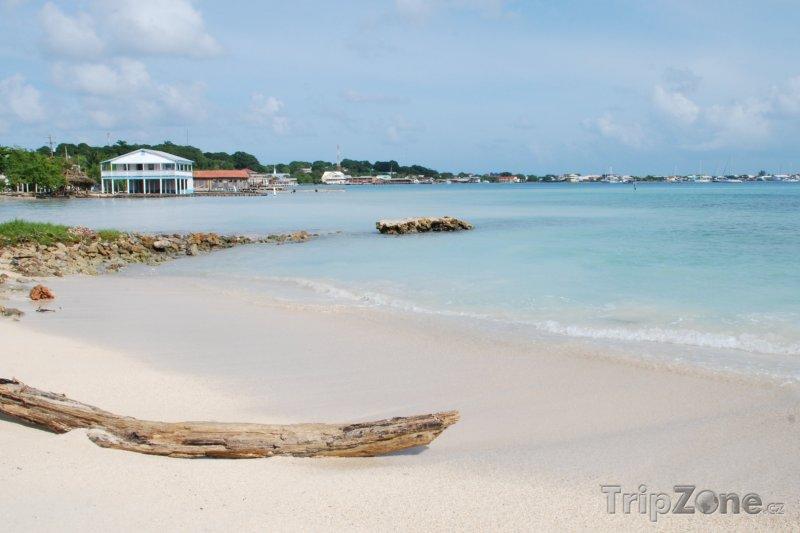 Fotka, Foto Pláž na ostrově Útila (Honduras)