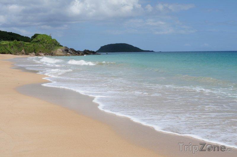 Fotka, Foto Pláž u města Sainte-Rose (Guadeloupe)