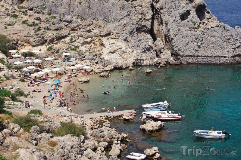 Fotka, Foto Pláž v St. Pauls Bay (Líndos, Řecko)