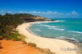 Pláž ve městě Natal