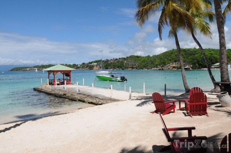 Fotka, Foto Pláž ve městě Sainte-Anne (Guadeloupe)