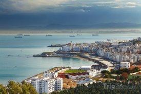 Pobřeží města Alžír