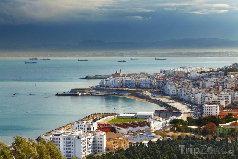 Fotka, Foto Pobřeží města Alžír (Alžírsko)