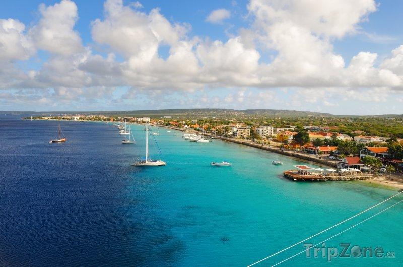 Fotka, Foto Pobřeží města Kralendijk (Bonaire)