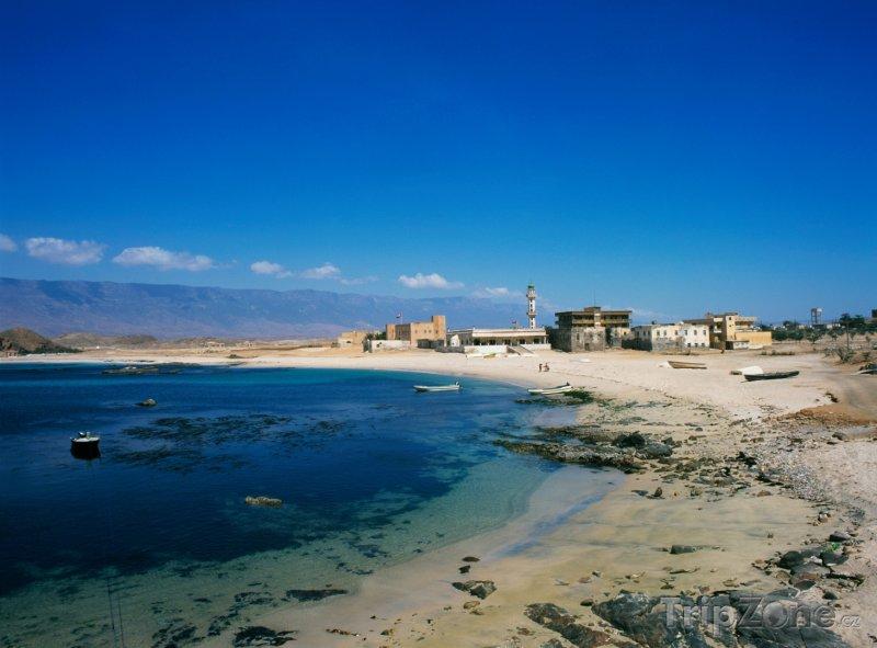 Fotka, Foto Pobřeží města Mirbat (Omán)