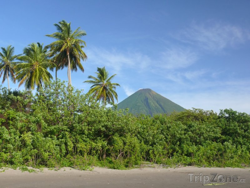 Fotka, Foto Pobřeží ostrova Ometepe (Nikaragua)