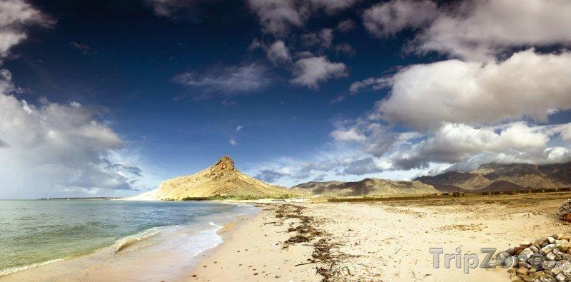 Fotka, Foto Pobřeží ostrova Socotra (Jemen)