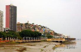 Pobřeží ve městě Guayaquil