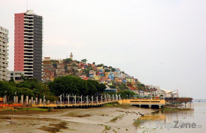Fotka, Foto Pobřeží ve městě Guayaquil (Ekvádor)