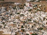 Pohled na domy z Akropole