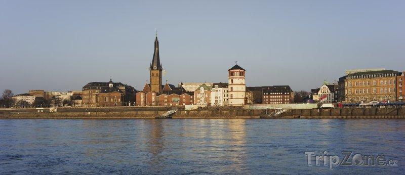 Fotka, Foto Pohled na historickou část města (Düsseldorf, Německo)