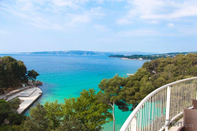Fotka, Foto Pohled na Jaderské moře (Krk, Chorvatsko)
