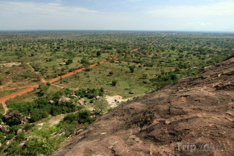 Fotka, Foto Pohled na krajinu z Abela Rock (Uganda)